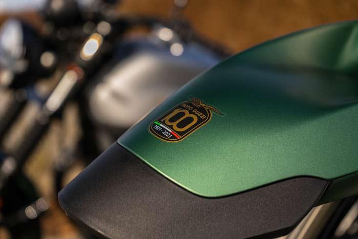 100 Jahre Moto Guzzi Sonderlackierung Centenario