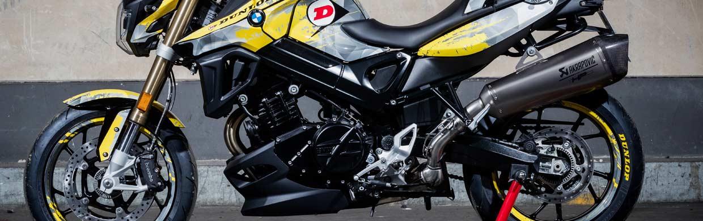BMW F 800 R auf Dunlop Sportsmart  Mk3 probefahren