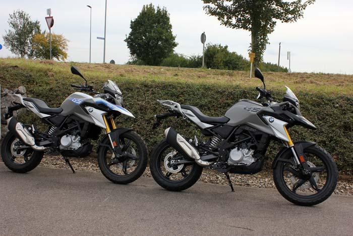 Die neue BMW G 310 GS bei Motorrad Bayer GmbH in Ulm/ Senden zur Probe fahren