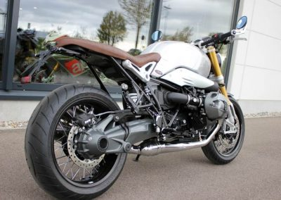 BMW R nineT 2016 Umbau (v. hi. re.)