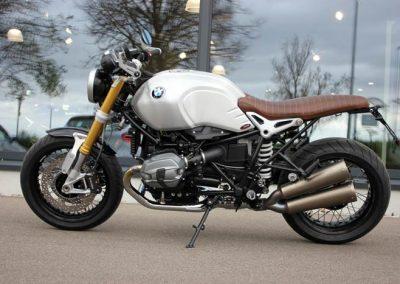 BMW R nineT 2016 Umbau (v. li.)