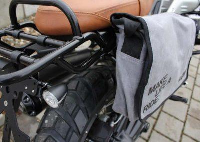 BMW R nine T Scrambler Umbau – Kennzeichenhalter, Blinker