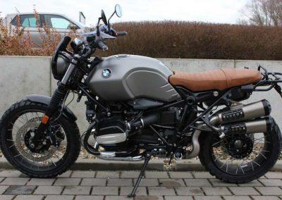BMW R nine T Scrambler Umbau - Seitenansicht links