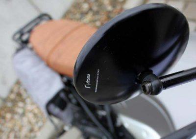 BMW R nine T Scrambler Umbau – Rizoma Spiegel