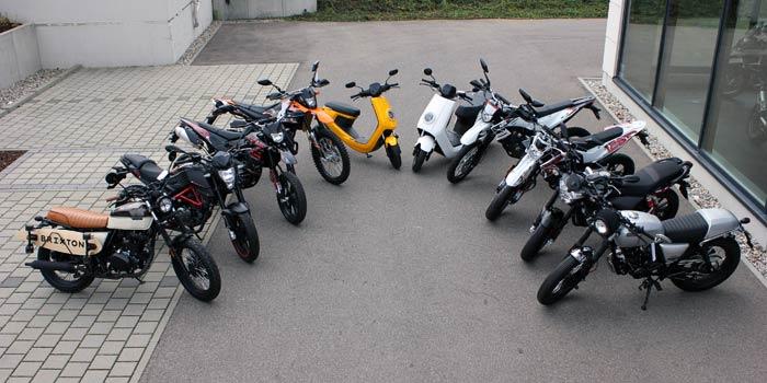 KSR MOTO, BRIXTON MOTORCYCLES, CFMOTO, NIU