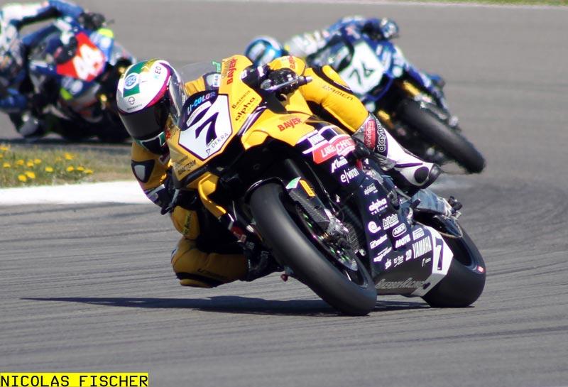 Marvin Fritz - Bayer - Bikerbox - Langenscheidt Racing (Nürburgring)