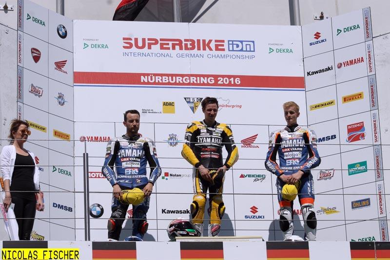 P1 Marvin Fritz - Bayer - Bikerbox - Langenscheidt Racing (Nürburgring)