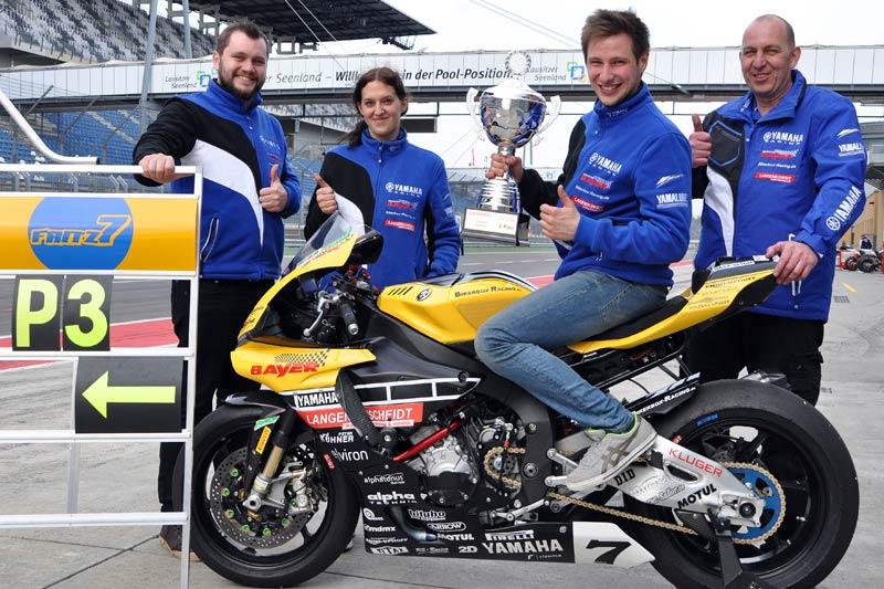 Marvin Fritz - Pokal im ersten Rennen!