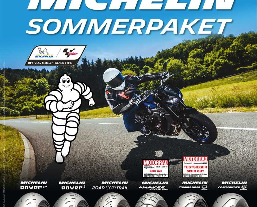 AKTION: MICHELIN SOMMERPAKET
