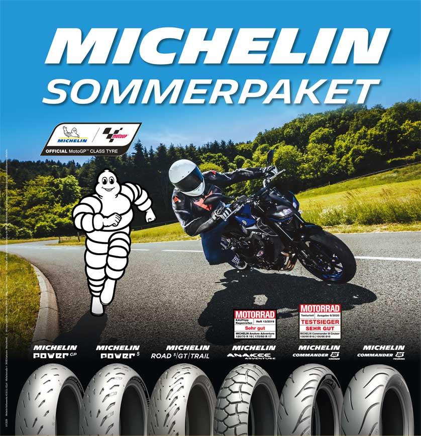 MICHELIN Sommerpaket