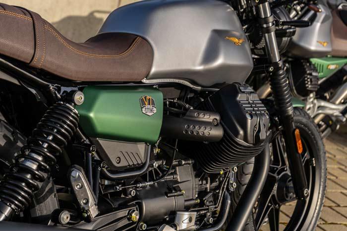 Moto Guzzi V7 100 Jahre Sonderlackierung