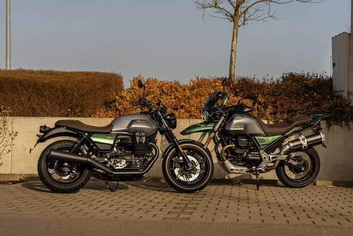 Moto Guzzi V7 und V85 TT