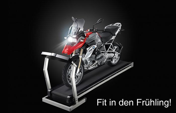 Motorrad Einwinterung – Fit in den Frühling!