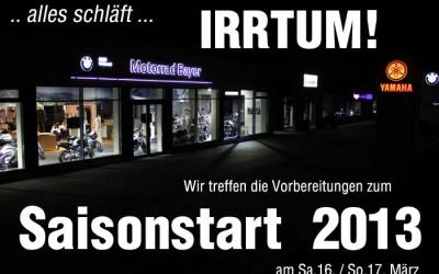 Saisonstart 2013