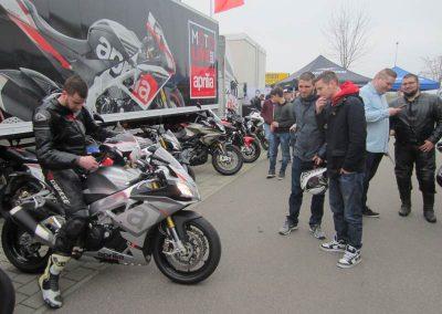 Start in die Motorradsaison 2016 im Motorradzentrum Ulm/Senden