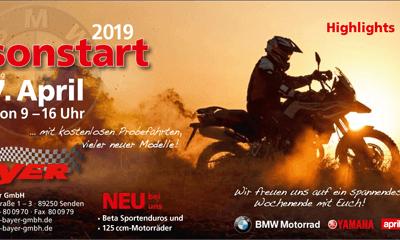 Saisonstart 2019