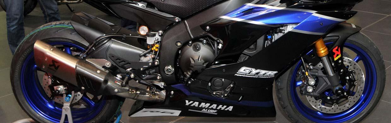 Rennversion einer Yamaha R6  - Sandro Cortese