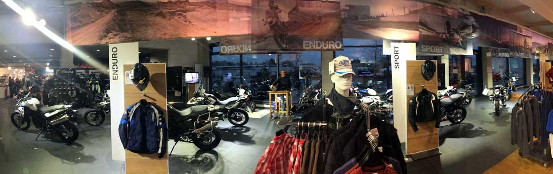 Motorrad Bayer GmbH Innenansicht